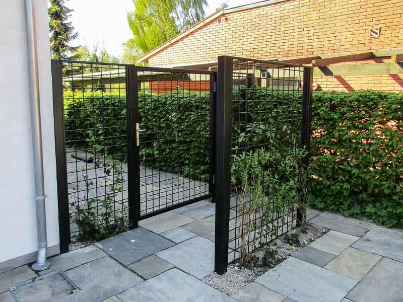 Konstruktion Gartentor