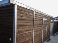 Carport Material Holzwand