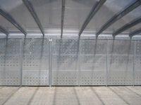 Carport Stahlkonstruktion