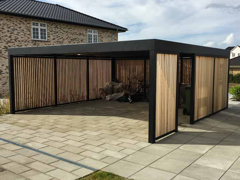 design carport im kubus format cartop. Black Bedroom Furniture Sets. Home Design Ideas