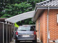Einzelcarport-Hausanbau