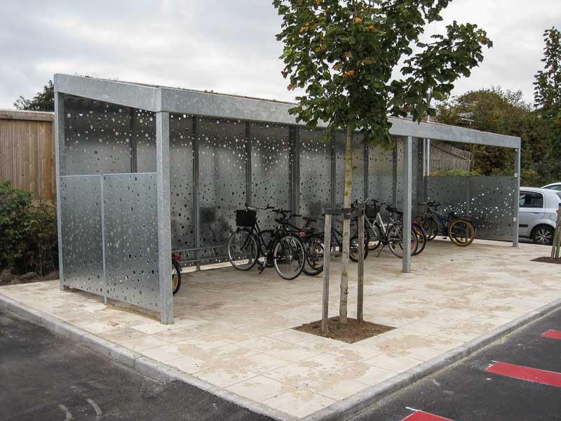 Super Langlebiger Fahrrad Carport aus Stahl | CarTop FO21