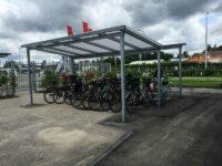 Fahrrad-Carport