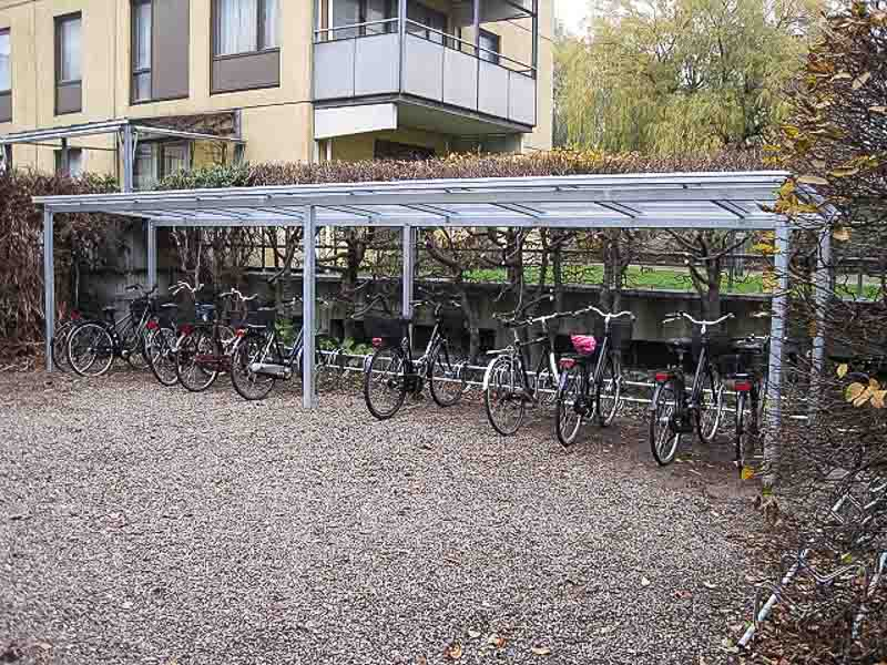 langlebiger fahrrad carport aus stahl cartop. Black Bedroom Furniture Sets. Home Design Ideas