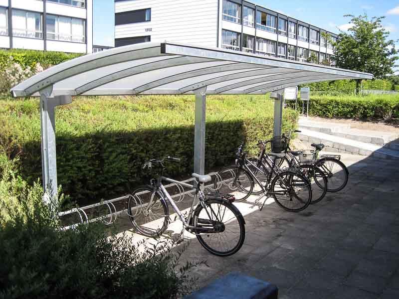 Fahrrad-Carport Stahl