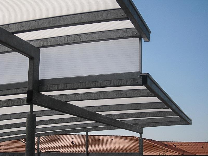Reihencarport Dach