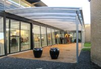 Terrassenueberdachung Stahl