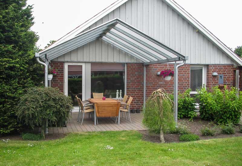 terrassen berdachung aus stahl wartungsfrei cartop. Black Bedroom Furniture Sets. Home Design Ideas