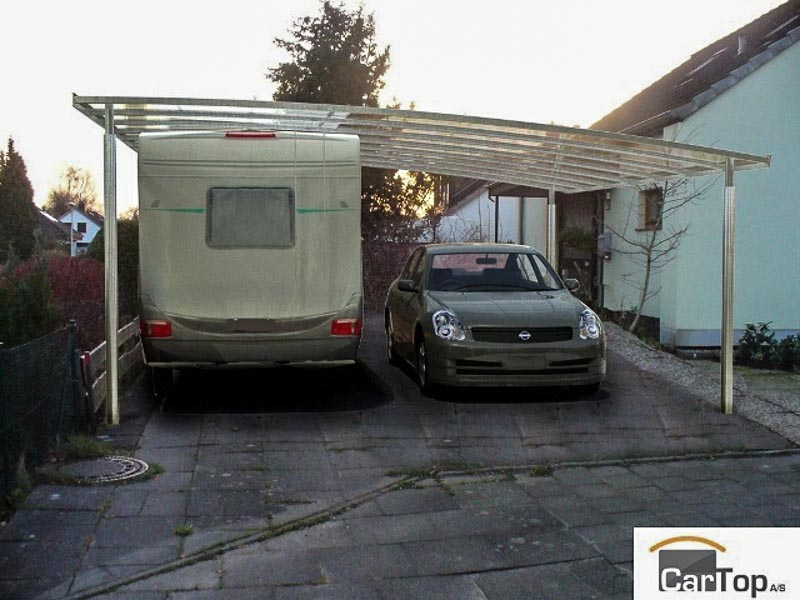 Wohnmobil-Carport-Doppel