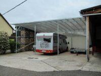 Wohnmobil-Carport-Dreier
