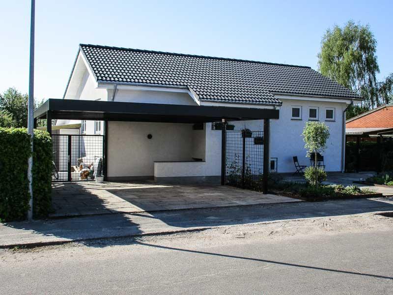 Design Stahlcarport