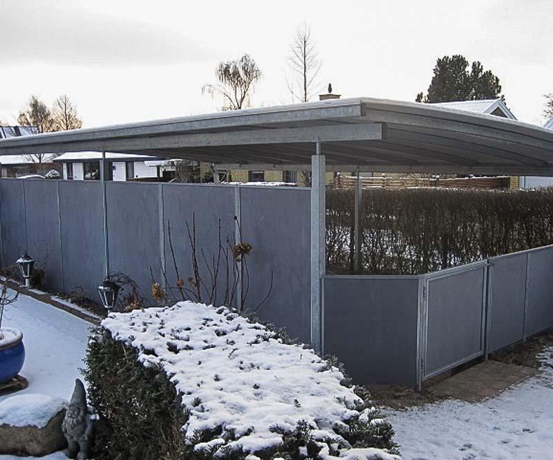 Sichtschutzwand Garten