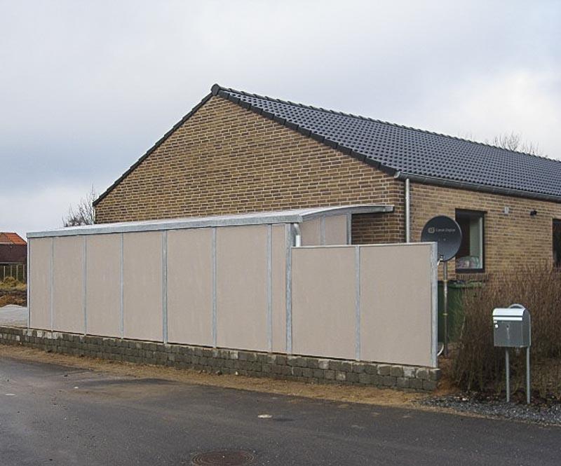 Sichtschutz Wand