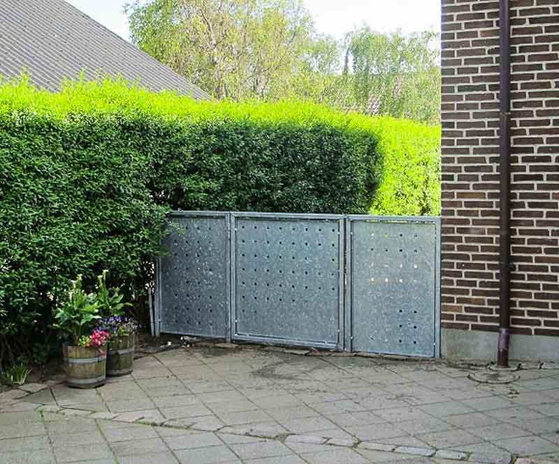 Sichtschutzwand Garten Tor
