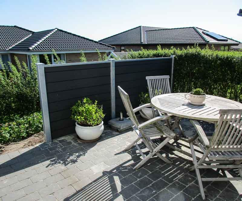 Sichtschutzwand-Terrasse
