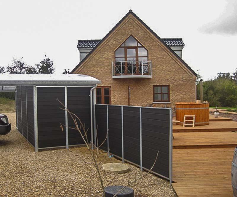 Sichtschutzwand Garten Stahl