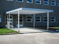 Stahlcarport Design Hausanbau