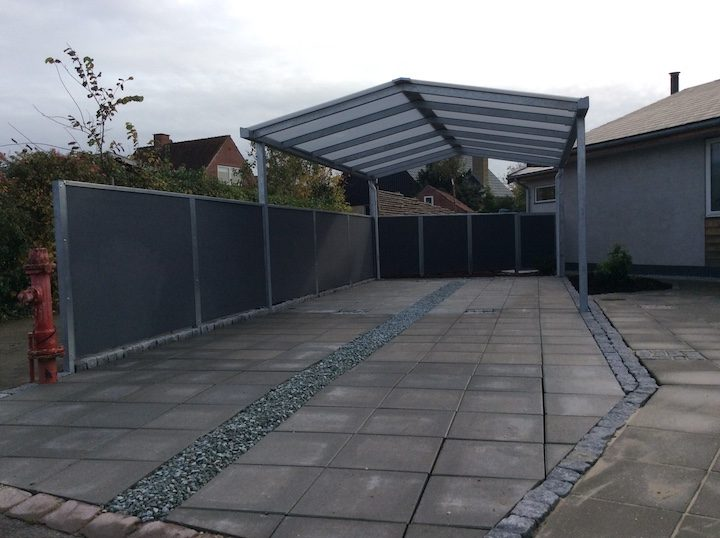 Carport satteldach fabulous m with