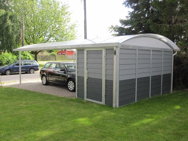 carport mit abstellraum cartop. Black Bedroom Furniture Sets. Home Design Ideas