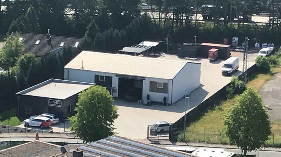 Carport Bremen LMD Firmengelände