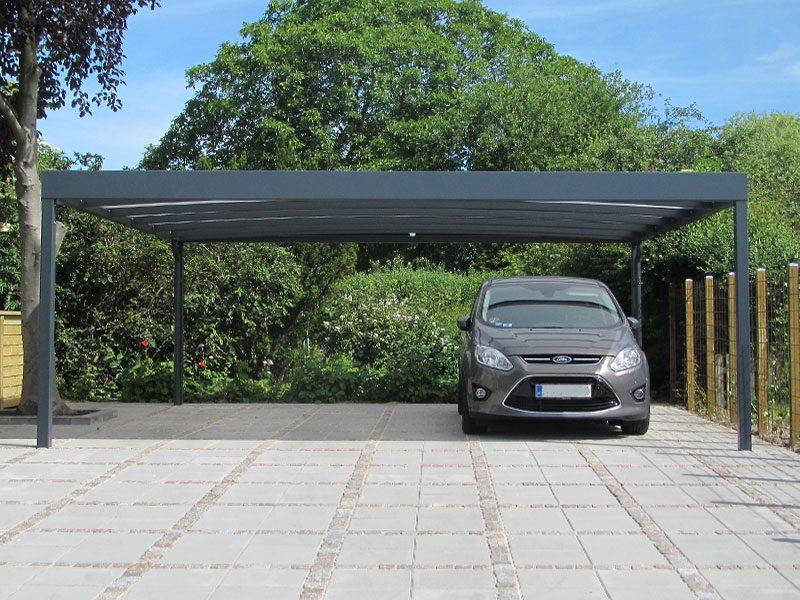 Design-Carport Doppelcarport
